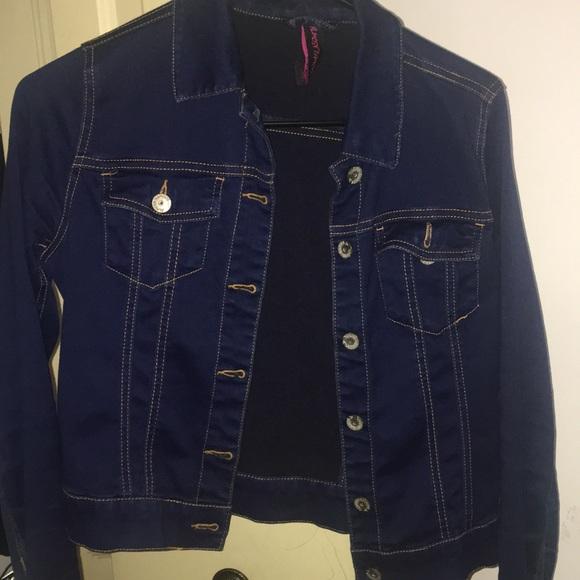 Rainbow Jackets & Blazers - Denim jacket!
